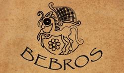 Bebros logo original couleur texture 2021